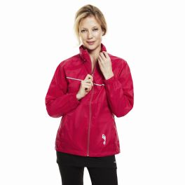 Pink Emergency foldaway jacket