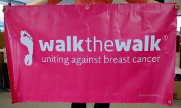 Walk the Walk Banner (Includes £25 Refundable Deposit)